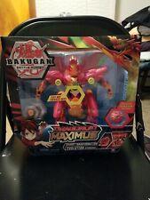 "Bakugan Battle Planet Dragonoid Maximus 8"" Transforming Figure New Action Toy"