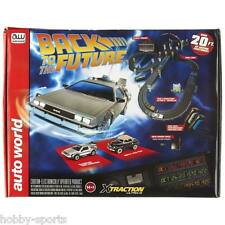 Auto World Slot Car Race Set Back to the Future 20' AW HO Round 2 SRS297