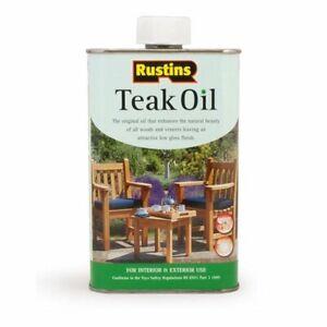 Rustins Teak Oil 5 litres / 1 litre