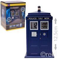 Neu Doctor Who Tardis Projektion Wecker Elektrisch Sfx Schlafzimmer Offiziell