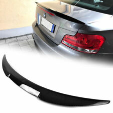Carbon Fiber FOR BMW E82 2D COUPE 2007-2013 128i M4-Type TRUNK SPOILER WING