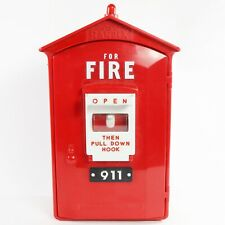 Vintage Randix Fire Alarm Box Phone FB-911 Wall Telephone