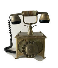 Telefono Rotativo Retro 1970's – Onice/Ottone