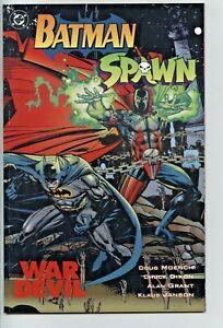 Batman Spawn  War Dog  DC comics Doug Moench Chuck Dixon Alan Grant Klaus Janson