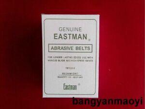1 box GENUINE EASTMAN ABRASIVE BELTS - QTY. 100 - Medium GRIT