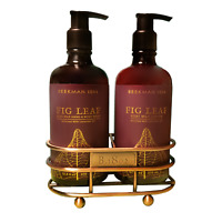 Beekman 1802 Fig Leaf Goat Milk Hand Care Caddy Duo Set (Hand Wash & Lotion)