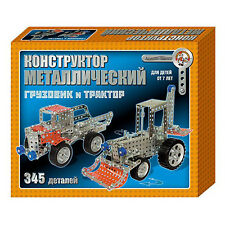 Metal Constructor for kids. construction toys car truck and tractor - p721