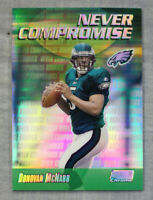 Donovan McNabb 1999 Topps Stadium Club Chrome Never Compromise Rookie Refractor