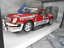 PORSCHE 911 Carrera 3.0 RS Rallye #3 Beguin Geant Casino Motul 1979 Solido  1:18