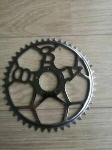 NOS Bsa 5 Pin Chainring 46T, Steel, Chrome For Vintage Bikes