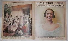 1937 Maria Jose di Savoia Principe di Napoli Croce Rossa Italiana Etiopia Bisso