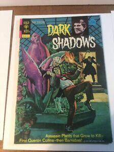 Dark Shadows #22 Gold Key Comic 1973