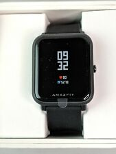 Amazfit Bip Smartwatch with Heart Rate and Activity Tracking (Onyx Black)