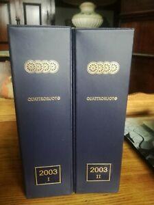 Quattroruote Year's Issues 2003 Completa With Box Magazine Automotive Auto