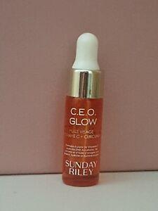 SUNDAY RILEY C.E.O Glow Vitamin C + Turmeric Face Oil 5ml Travel Sample Size new