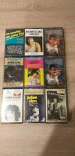 Vintage Lot 9 K7 Cassette audio JULIEN CLERC