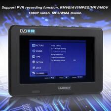 7 '' HD TFT-LED Portable Mini Digital TV DVB-T2 ISDB Mobile TV USB TF Card UK