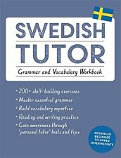 Swedish Tutor: Grammar and Vocabulary Workbook (Learn Swedish) New Paperback Boo
