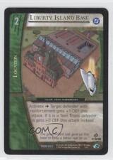 2004 Vs System Dc Origins #Dor-057 Liberty Island Base Gaming Card 3v2