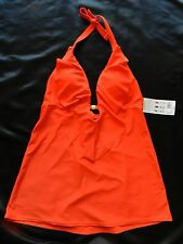 SmartSexy Hot Fire Color Swim suittop Tankini Size Medium New with tags!