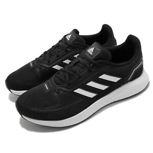 adidas Runfalcon 2.0 Black White Women Running Sports Shoes Sneakers FY5946