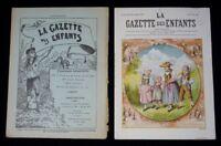 La Gaceta Las Enfants ( N º 47 de La 27 Noviembre 1892)