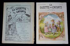 The Gazette of Enfants (No No 47 the 27 November 1892)