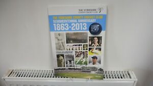 Yorkshire CCC Sesquicentennial Anniversary 1863-2013 Signed by Geoffrey Boycott