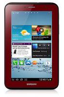 Samsung Galaxy Tab 2 GT-P3113 8GB, Wi-Fi, 7in - Garnet Red mint condition