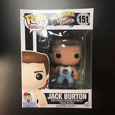 Funko POP Big Trouble in Little China Jack Burton Vaulted *NOT MINT BOX 7/10+*