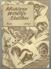 B0006W864O Michigan wildlife sketches: The native mammals of Michigans forests