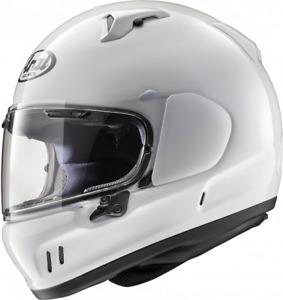 ARAI RENEGADE - V WHITE MOTORCYCLE HELMET - MEDIUM