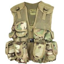 CHILDREN'S CHILDS FANCY DRESS SAS SPECIAL FORCES SOLDIER STYLE CAMO ASSAULT VEST