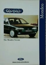 Ford Mondeo Verona Sales Brochure - June 1995