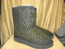 UGG and Jimmy Choo Mandah  Boot size 11 Eu 42 Black