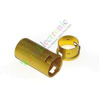 20pc 9Pin Tube sockets Shield Cover for audio DIY 12AX7 12AU7 ECC82 ECC83 Yellow