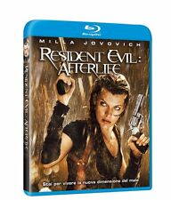Blu-ray Resident Evil Afterlife con Milla Jovovich 2010 Usato