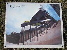 Vint Fallen Skateboard Shoes Garrett Hill Lg. Heavy Plastic Dealer Poster Zero