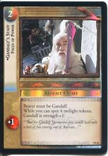 Lord Of The Rings Foil CCG Card RotK 7.R38 Gandalf's Staff, Focus Of Power
