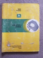 JOHN DEERE 6800 TRACTOR OPERATORS MANUAL