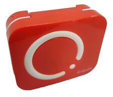 Smart Red Coloured Contact Lens Lenses Travel Kit - Mirror - Case - Tweezers