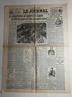 N359 La Une Du Journal Le journal 22 juillet 1926 monsieur Lancel acquitté