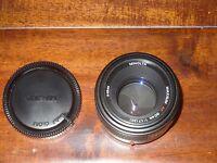 Minolta AF Maxxum 50mm f1.7 Lens  Sony MADE IN JAPAN