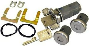 1979-1987 Chevy GMC Pickup Truck New Outside Door Lock Set & Ignition Cylinder
