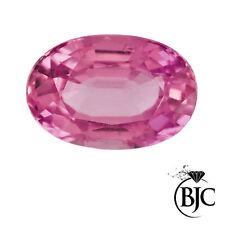Oval Pink Loose Natural Sapphires