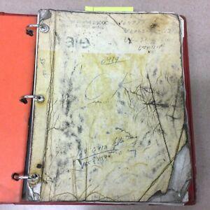 Trojan Yale Eaton 2500C WHEEL LOADER PARTS MANUAL BOOK CATALOG LIST GUIDE #TB074