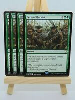 MTG 4x C19 Second Harvest MINT