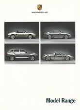 Porsche Model Range UK Brochure 2003 Ft 911 GT2 GT3 Boxster Carrera GT Cayenne