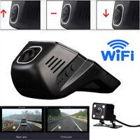 140° HD Hidden WiFi Car DVR Dash Cam Recorder Rear Camera AV Video Night Vision