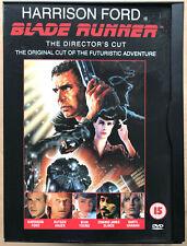 Blade Runner DVD The Director's Cut 1982 Sci-Fi Film Movie Classic Snapper Case